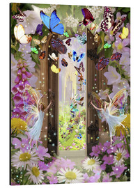 Aluminium print  Fairy door - Garry Walton
