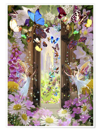 Premium poster  Fairy door - Garry Walton