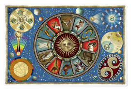 Poster  Zodiac colour - Garry Walton