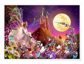 Premium poster  Fairy dreams - Garry Walton