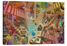Canvas print  Library of the Mind - Garry Walton