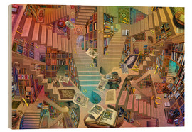 Wood  Library of the Mind - Garry Walton