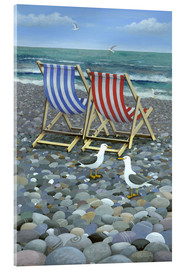 Acrylic glass  Deck Chairs - Peter Adderley
