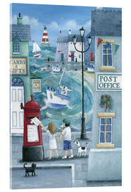 Acrylic glass  Harbour post - Peter Adderley