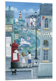 Foam board print  Harbour post - Peter Adderley