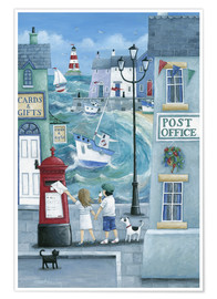 Premium poster  Harbour post - Peter Adderley