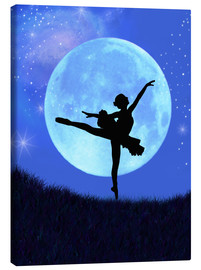 Canvas  Bluemoon Ballerina - Alixandra Mullins