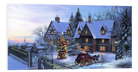 Foam board print  Wonderful Christmas - Dominic Davison