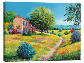 Canvas print  Summer House - Jean-Marc Janiaczyk