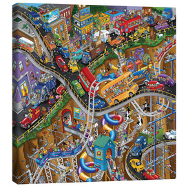 Canvas print  Rush hour - Steve Skelton