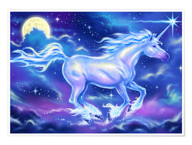 Premium poster  Unicorn - Richard Kelly