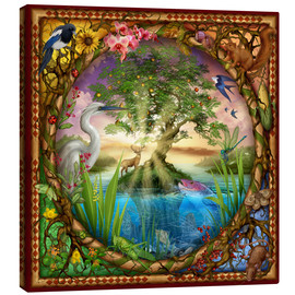 Canvas  Tree of life - Ciro Marchetti