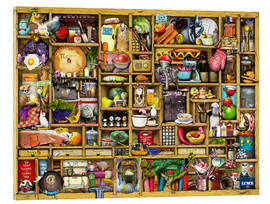 Acrylic print  Kitchen Cupboard - Colin Thompson