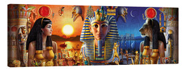 Canvas  Egyptian Triptych 2 - Andrew Farley