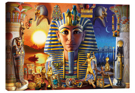 Canvas print  Egyptian Treasures - Andrew Farley