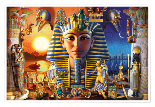 Premium poster Egyptian Treasures