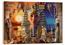 Wood  Egyptian Treasures - Andrew Farley