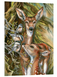 Forex  Deers and birds - Jody Bergsma