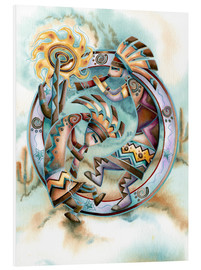 Foam board print  Happy dance - Jody Bergsma