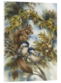 Acrylic print  Some of my best friends - Jody Bergsma