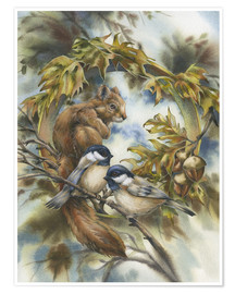 Premium poster  Some of my best friends - Jody Bergsma