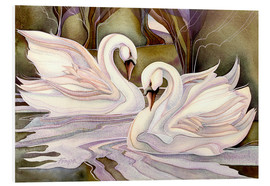 Foam board print  Together through life - Jody Bergsma
