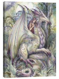 Canvas print  Nothing happens unless - Jody Bergsma
