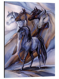 Aluminium print  Inspired by the five winds - Jody Bergsma
