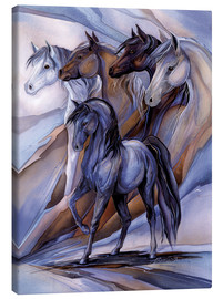 Canvas  Inspired by the five winds - Jody Bergsma