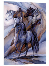 Foam board print  Inspired by the five winds - Jody Bergsma