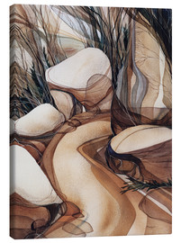 Canvas  The road less travelled - Jody Bergsma
