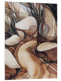 Foam board print  The road less travelled - Jody Bergsma