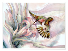 Premium poster  Spread your wings - Jody Bergsma