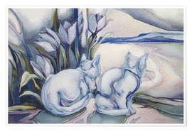 Premium poster  Miracles come quietly - Jody Bergsma