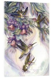 Acrylic print  Love is the joy of life - Jody Bergsma