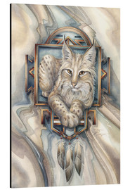 Aluminium print  Magic of Lynx - Jody Bergsma