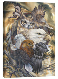 Canvas print  Sky Kings - Jody Bergsma