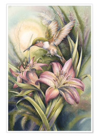 Premium poster  Come Fly with Me - Jody Bergsma