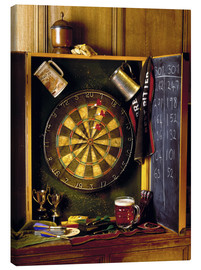 Canvas  Darts board - Simon Kayne