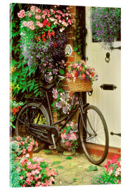 Simon Kayne - Bicycle & Flowers