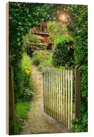 Wood  Secret Garden Gate - Simon Kayne