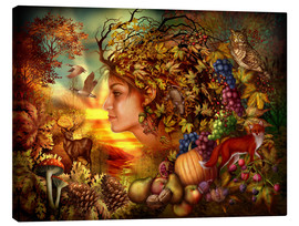 Canvas print  Spirit of autumn - Ciro Marchetti