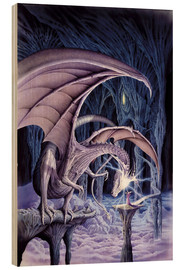 Wood print  Dragon Lord - Robin Koni