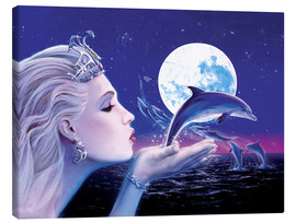 Canvas  Dolphin Princess - Robin Koni