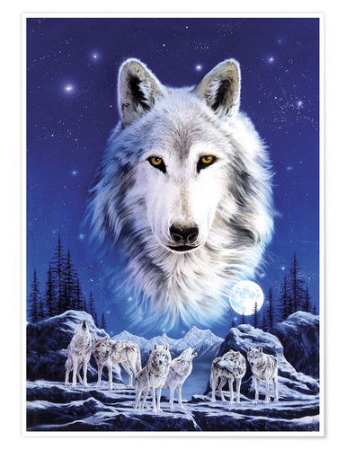 Premium poster Night of the wolves