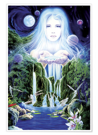 Premium poster  Enchanted pool - Robin Koni