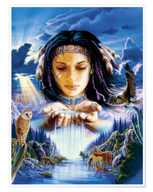 Poster Sacred waters