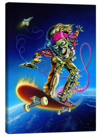 Canvas print  Skateboarder - Extreme Zombies