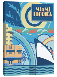Canvas print  Miami Florida - Pete Kelly