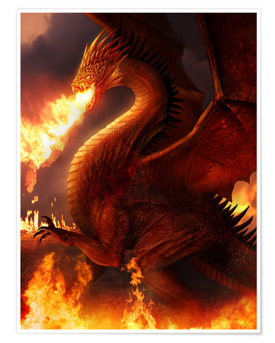 Premium poster Lord of the Dragons